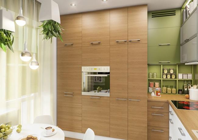 кухня экостиль для современного помещения