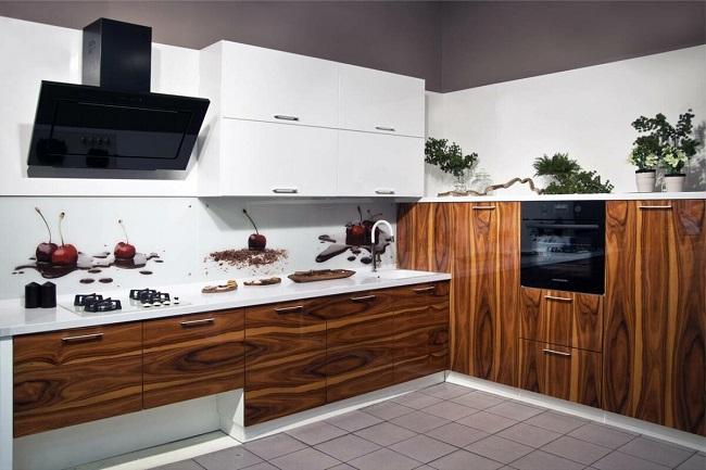 кухня экостиль шпон
