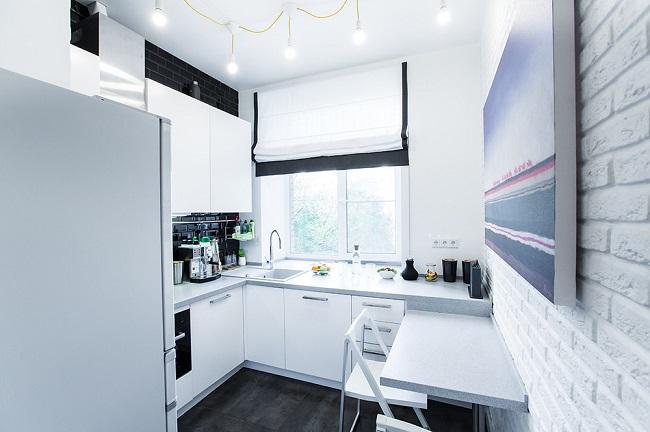 Угловая кухня 6 кв м