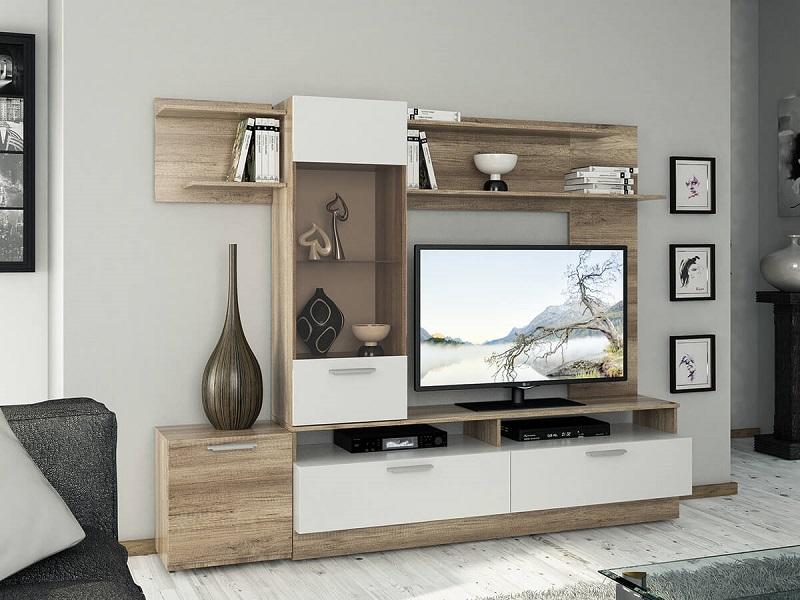 Белая мебель для маленькой гостиной