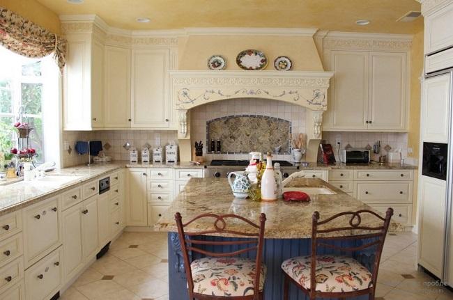 Кухня Прованс с порталом